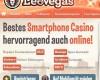 Leo Vegas Casino mit neuem Willkommensbonus