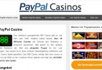 PayPal in online Casinos
